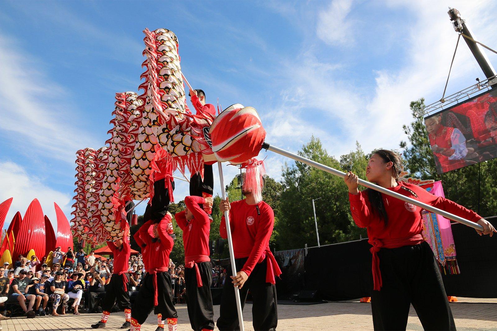Bendigo Easter Festival Dragon Dance