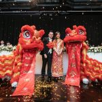 Traditional Lion Dance Wedding
